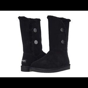 Ugg Koolburra black kinselei tall suede boots